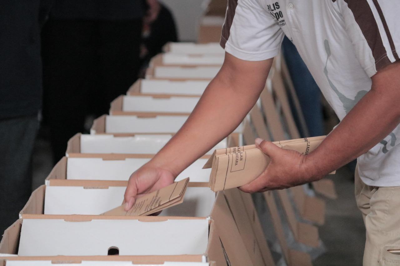 Checking Logistik Pemilihan Serentak Lanjutan Tahun 2020